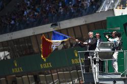 Chase Carey, Formel-1-Chef, startet die 24h Le Mans 2017