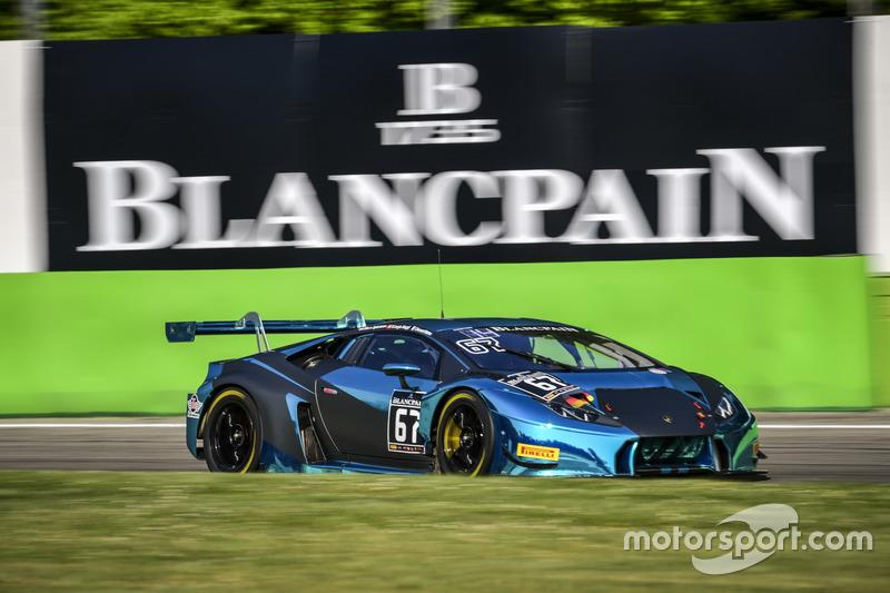 #67 Attempto Racing, Lamborghini Huracan GT3: MarMax van Splunteren, Clément Mateu, Giorgio Maggi