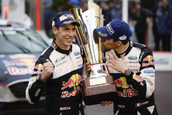 Race winners Sébastien Ogier, Julien Ingrassia, M-Sport