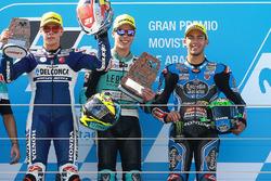 Podio:Gandor  Joan Mir, Leopard Racing, segundo Fabio Di Giannantonio, Del Conca Gresini Racing Moto3, tercero Enea Bastianini, Estrella Galicia 0,0
