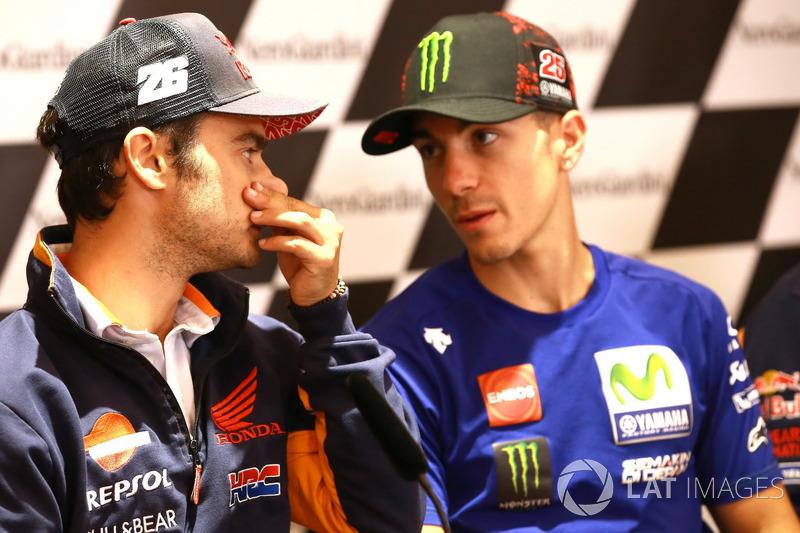 Дані Педроса, Repsol Honda Team, Маверік Віньялес, Yamaha Factory Racing