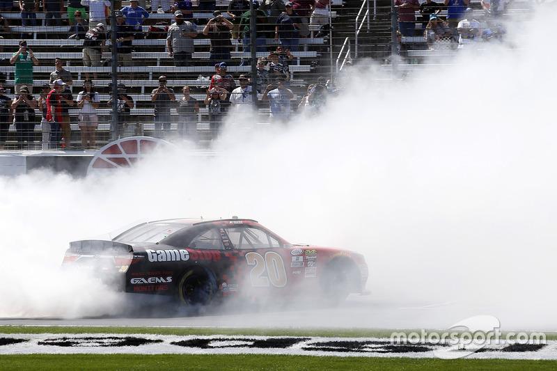 1. Erik Jones, Joe Gibbs Racing, Toyota