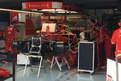 Changement de moteur pour Sebastian Vettel, Ferrari SF70H