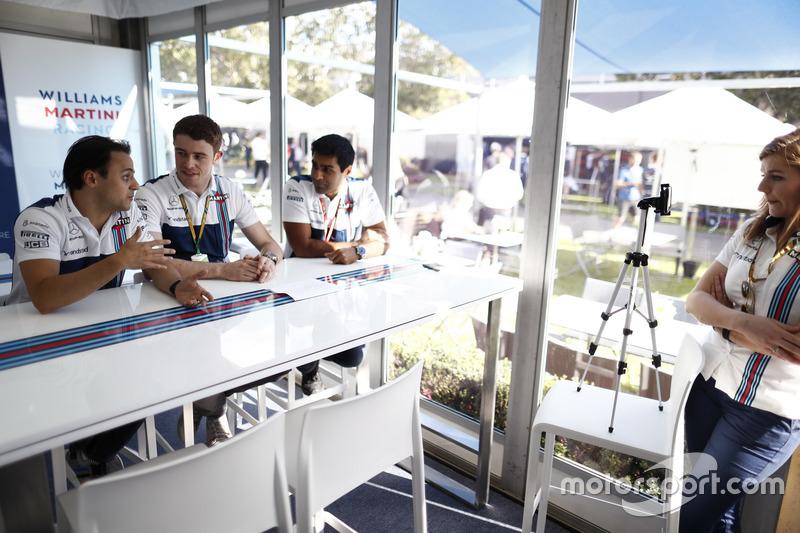 Felipe Massa, Williams, Paul di Resta y Karun Chandhok, en el lugar de Williams