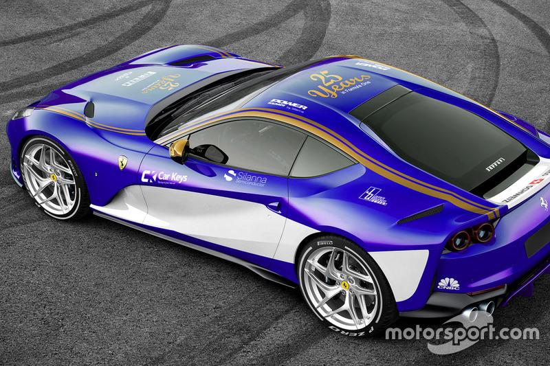 Ferrari 812 im Sauber-Design