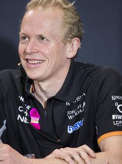 Andrew Green, directeur technique, Force India
