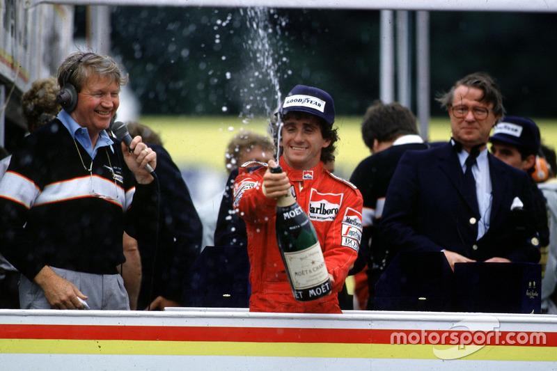 Alain Prost (1985, 1986, 1989 et 1993)