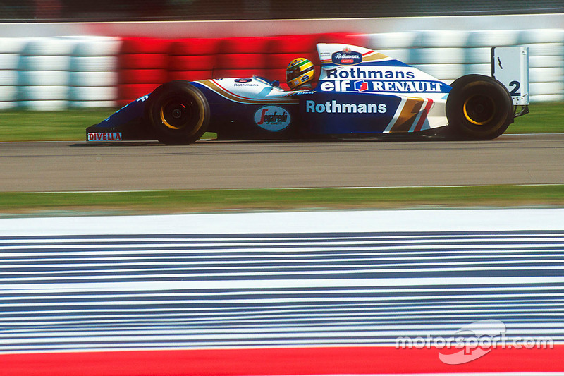 Айртон Сенна, Williams FW16 Renault