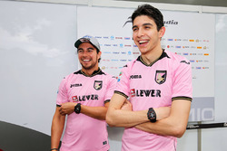 Sergio Pérez, Sahara Force India F1, Esteban Ocon, Sahara Force India F1