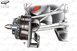 DUPLICATE: McLaren MP4-25 brake assembly