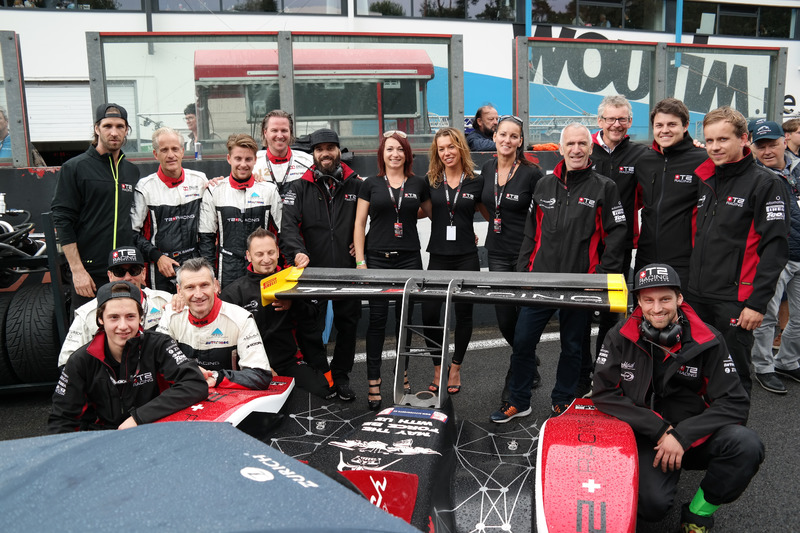 Marc Weber, Nico Stuerzinger, Mike Fenzl, Pieter Decurtins, T2 Racing Switzerland