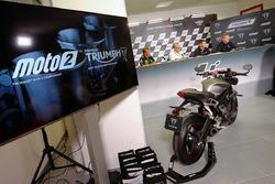 Verkündigung Triumph als Motorenlieferant für Moto2 ab 2019