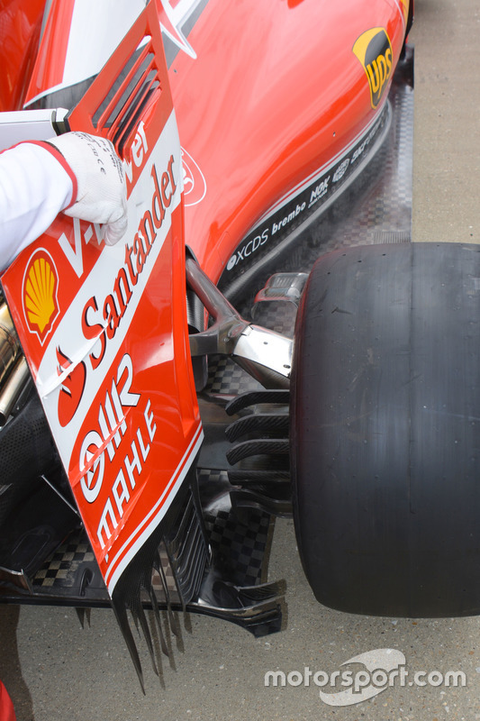 Ferrari, rear detail