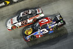 Ty Dillon, Richard Childress Racing Chevrolet, Brad Keselowski, Team Penske Ford