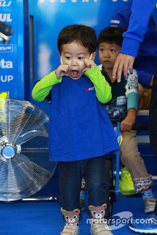 Un jeun fan de Suzuki