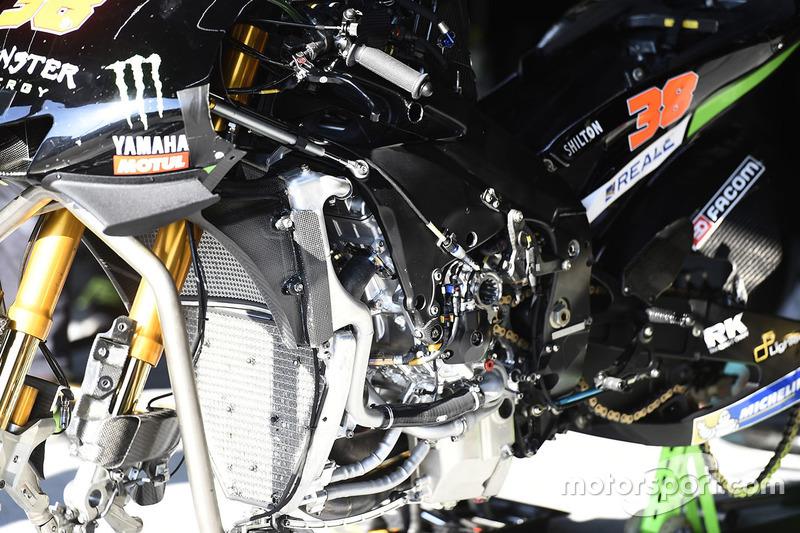 Bradley Smith, Monster Yamaha Tech 3 Yamaha M1 detail