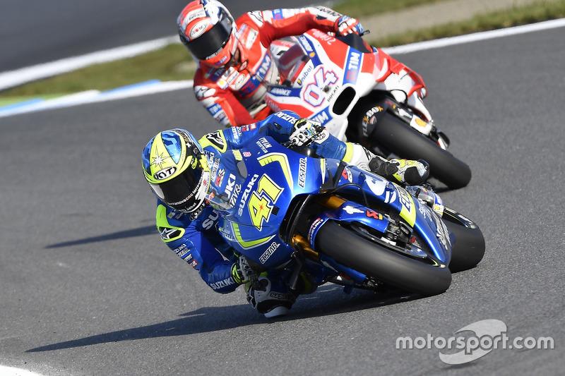 Aleix Espargaro, Team Suzuki Ecstar MotoGP, Andrea Dovizioso, Ducati Team