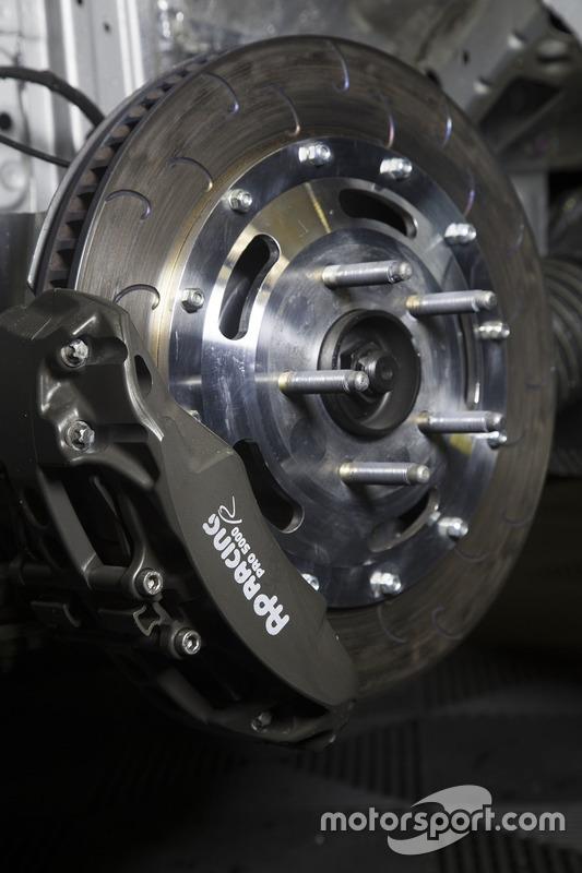 Opel Astra TCR disc brake