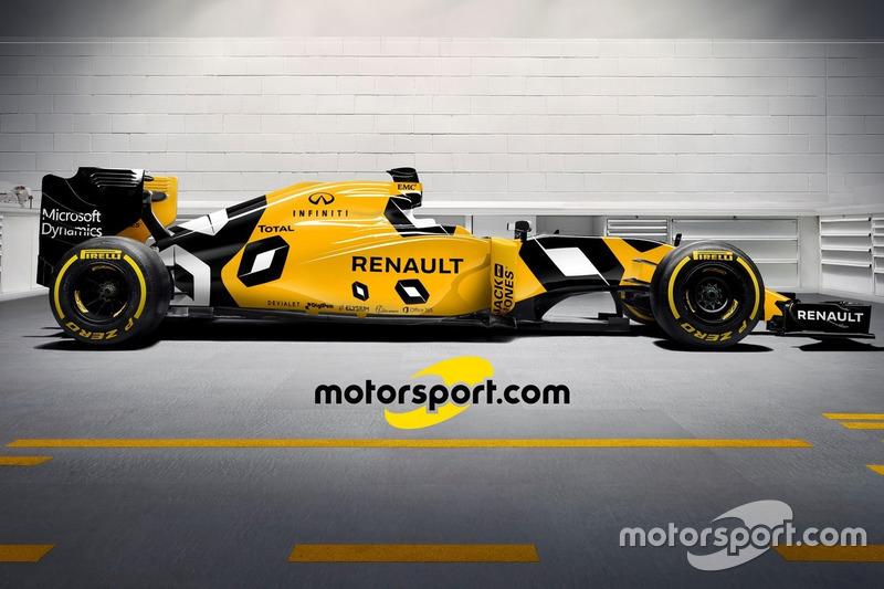 Nuestro diseño para el nuevo Renault RS16 -Opción B