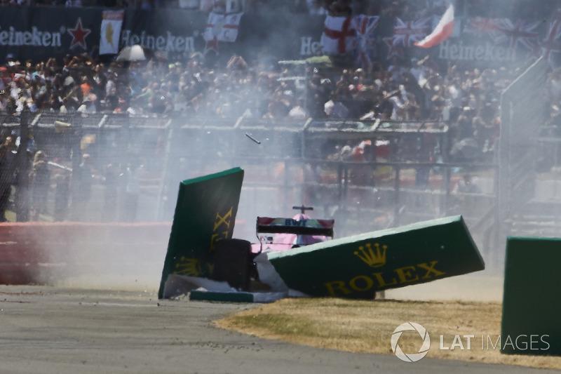 GP Inggris Raya - Sergio Pérez (balapan)