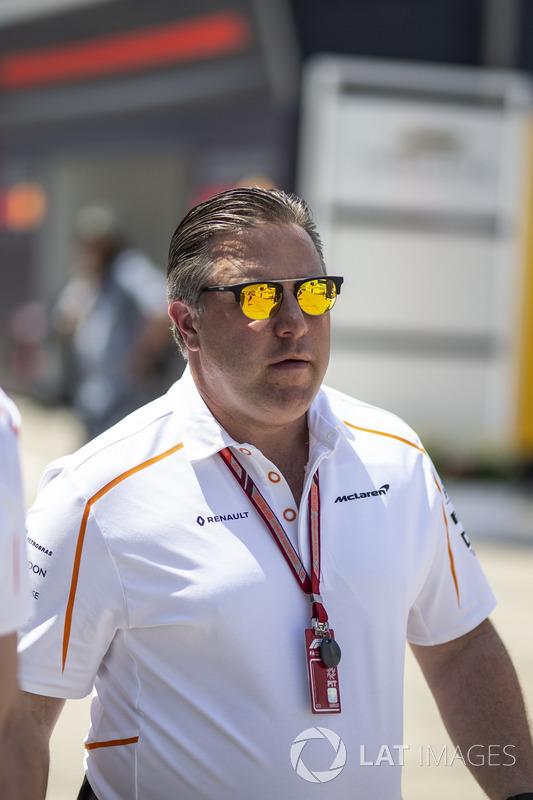 Zak Brown, CEO McLaren Racing