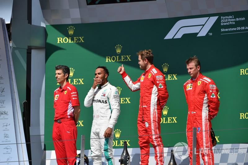 GP de Grande-Bretagne - Podium
