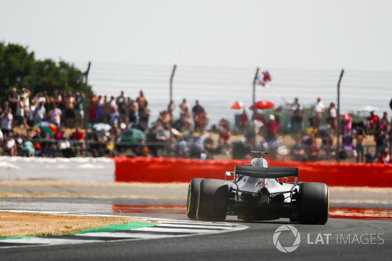 GP de Grande-Bretagne - Pole position