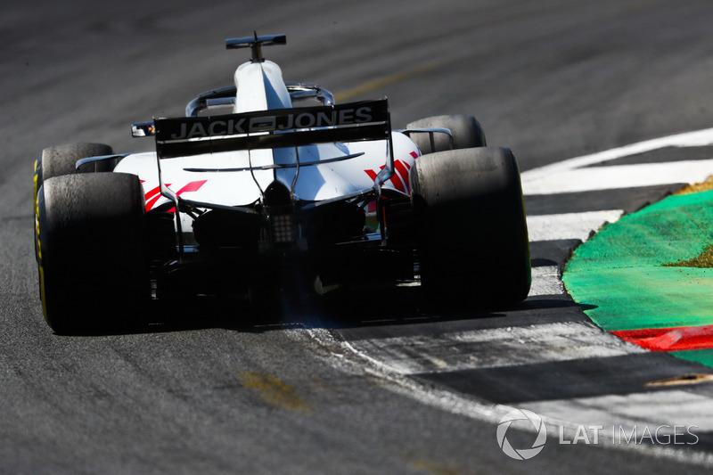 8: Romain Grosjean, Haas F1 Team VF-18, 1'27.455