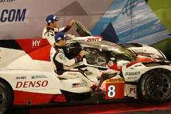 Race winners #8 Toyota Gazoo Racing Toyota TS050-Hybrid: Sebastien Buemi, Anthony Davidson, Kazuki N