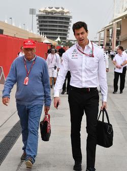 Нікі Лауда та Тото Вольфф, Mercedes AMG