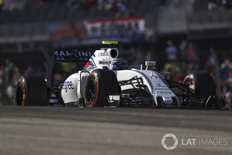 2016 : Williams-Mercedes FW38