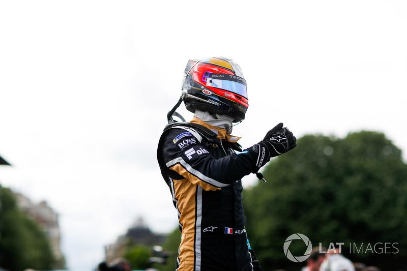 Ganador de la carrera Jean-Eric Vergne, Techeetah