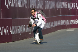 Interesting way of filming the track