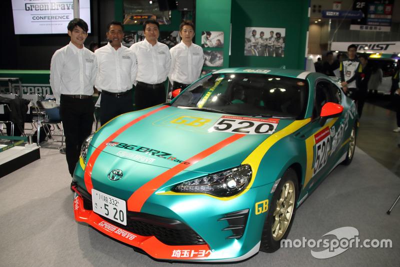 Saitama Toyope GreenBrave 86 race car