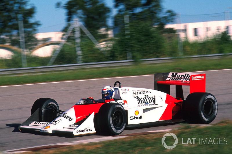 Ален Прост, McLaren MP4/4