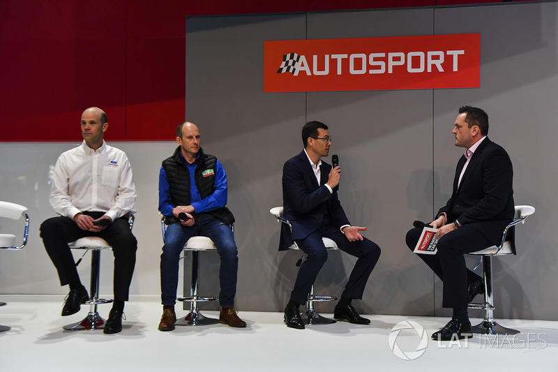 Ford's Mark Rushbrook, Ben Taylor of Wales Rally GB and Oliver Ciesla of the WRC, discuss the champi