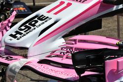 Переднее антикрыло Sahara Force India F1 VJM11