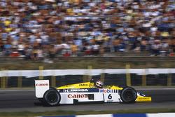 Nelson Piquet. Williams FW11 Honda