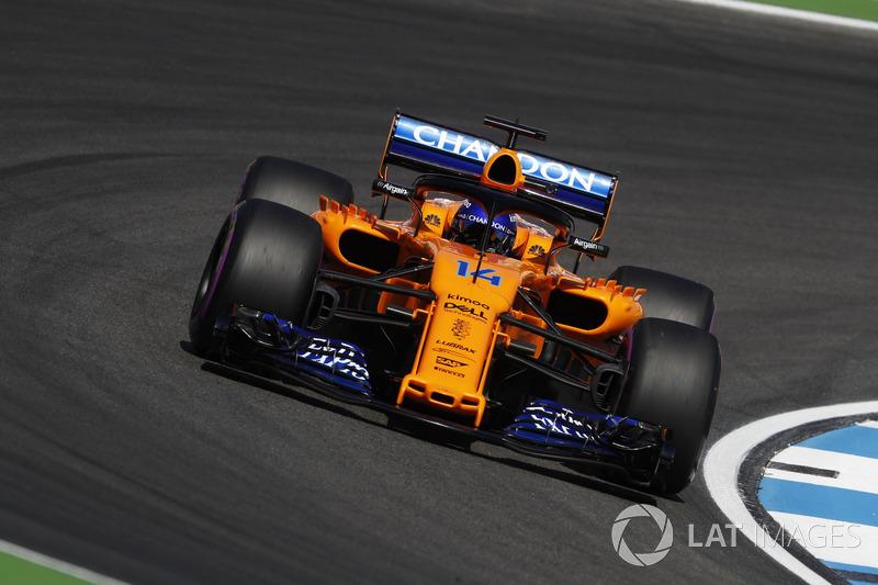 11. Fernando Alonso, McLaren MCL33
