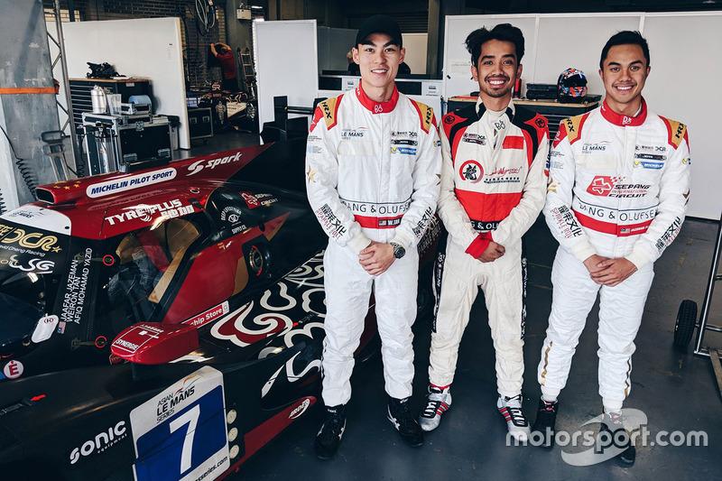 #7 Jackie Chan DC Racing Oreca 05 Nissan: Jazeman Jaafa, Weiron Tan, Afiq Ikhw an Yazid