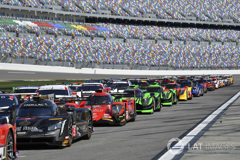 IMSA WeatherTech Group Car shot