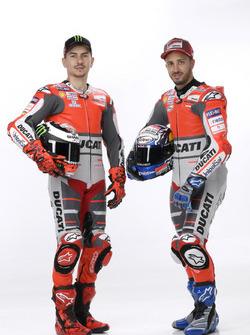Jorge Lorenzo et Andrea Dovizioso, Ducati Team