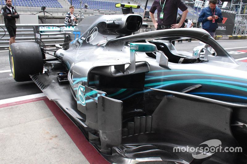 Mercedes-AMG F1 W09 karoser detay