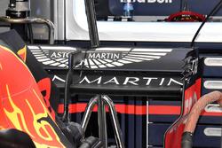 L'aileron arrière de la Red Bull Racing RB14