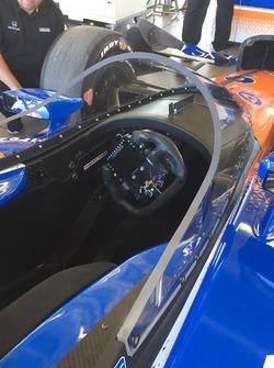 Скотт Діксон, Chip Ganassi Racing Honda тестує новий aeroscreen