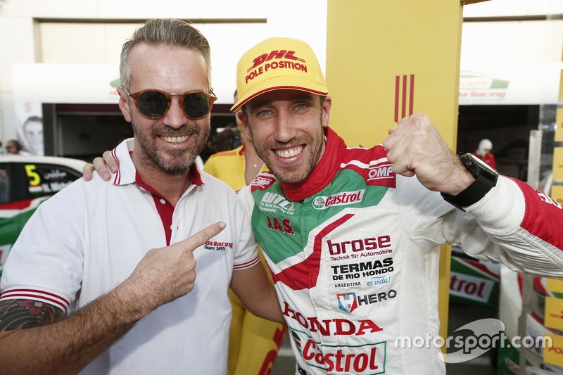 Tiago Monteiro ed Esteban Guerrieri, Castrol Honda World Touring Car Team