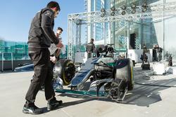 Mercedes AMG F1 engineers