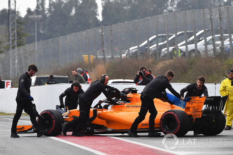 McLaren (260 кругов)