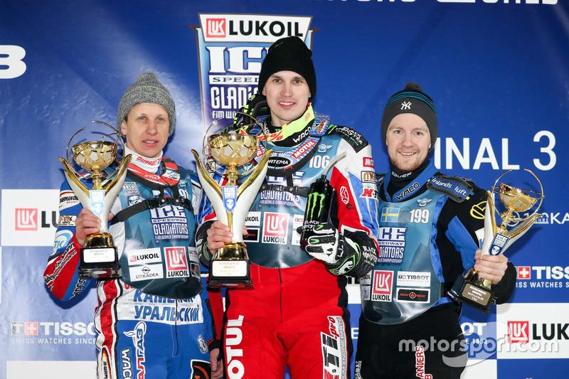 Для шведско-финского дебютанта Gladiators этот подиум стал вторым в сезоне. А Колтаков еще сильнее упрочил лидерство в чемпионате