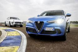 Alfa Romeo Stelvio Quadrifoglio e Porsche Macan Turbo